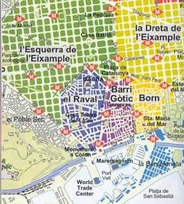In dit artikel veel tips voor het vinden van een leuk hotel of appartement in Barcelona