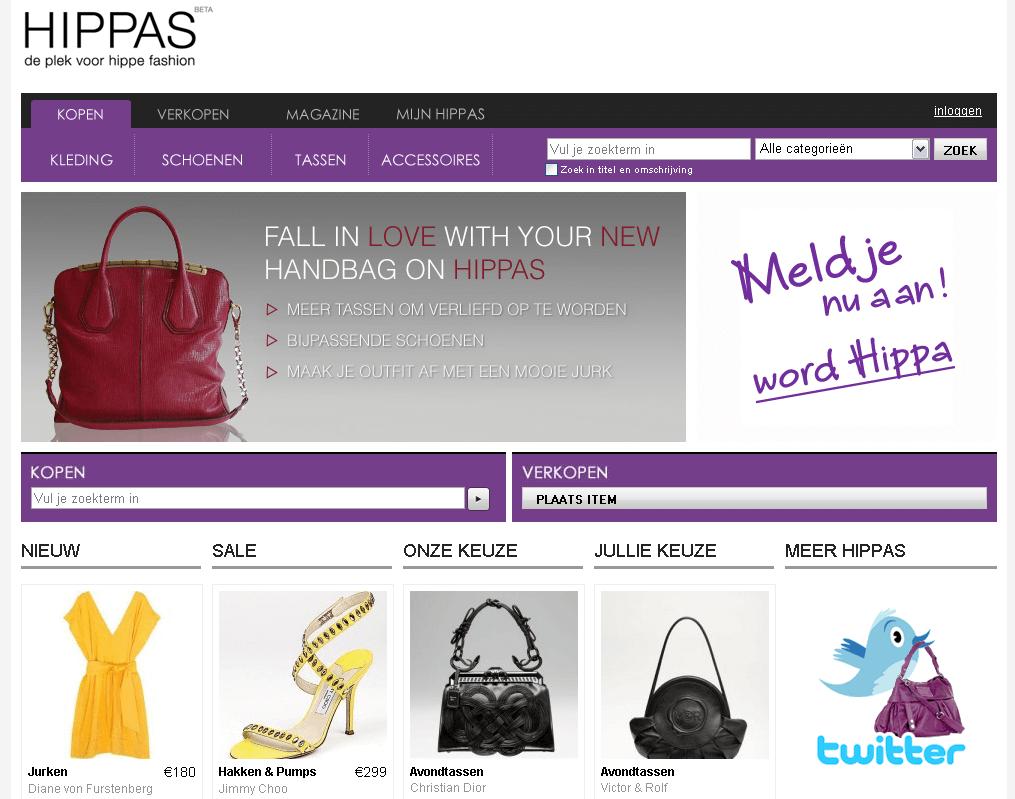 Hippas - de plek voor tweedehands fashion