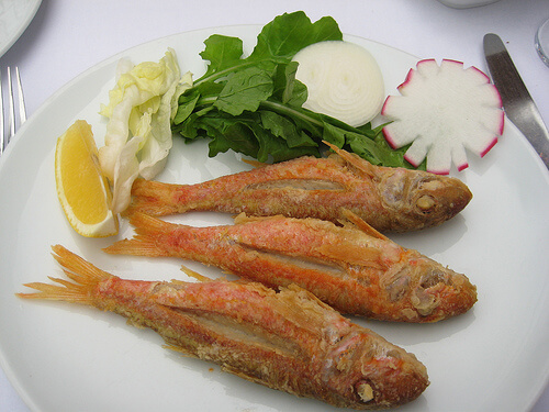 Balikci Sabahattin fish - red pone